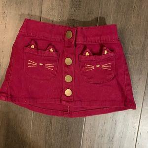 NWT Carter's Kitty Skirt- 12 months